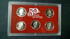 2005 US Mint State Quarter Silver Proof Set with box and COA