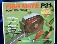 Fish Mate P21 Pond Fish Feeder - New