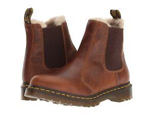 Women's Shoes Dr. Martens 2976 LEONORE Chelsea Boots 23898243 BUTTERSCOTCH