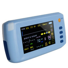 Portable Patient Monitor Touch Screen 6 Parameter Vital Sign Bluetooth Us A