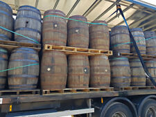 Genuine Reclaimed Solid Oak Whiskey Barrels 225L | Brewing, Garden, Salvage, Old