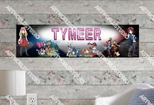 Personalized/Customized Pokemon XY Name Poster Wall Art Decoration Banner