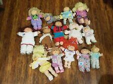 Lot of 13 Vintage Cabbage Patch Dolls , 1 cat