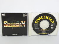 SORCERIAN PC-Engine SCD PCE Grafx Japan Game pe