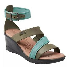 Keen Skyline Ankle Wedge Sandals Women's size 7 M Mineral Blue
