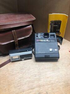 Vintage Kodak Colorburst 50 Instant Film Polaroid Camera W Case