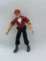 2014 Adventure Wheels Red Shirt Blue Hat Action Figure -Land Sea Air Toy