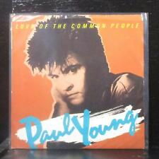 """Paul Young - Love Of The Common People 7"""" Mint- Vinyl 45 Columbia 38-04453 USA"""
