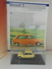 COCHE RENAULT 5 MODEL CAR 1/43 1:43 QUERIDOS COCHES MINIATURA R5 FRANCE