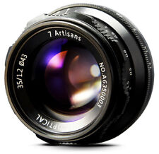 REAL EU SHIP! ✮ 7Artisans 35mm f/1.2 manual lens for Micro4/3 mount M4/3 MFT