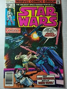 """Star Wars #6  9.4 (1977) - Part 6 of """"Star Wars: A New Hope"""" movie adaptation"""