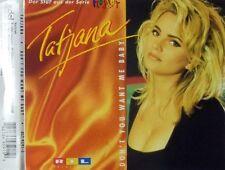 Tatjana Don't you want me baby (1994) [Maxi-CD]