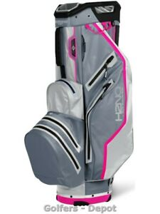 Sun Mountain Cartbag H2NO LIGHT Waterproof nickel cadet pink