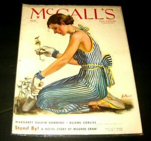 McCALL'S MAY 1934 magazine Vintage Great Painted Cover very good