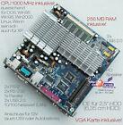 Mini Motherboard V90 6 11/16x6 11/16in + 1GHz CPU 256MB USB2.0 12V Operation