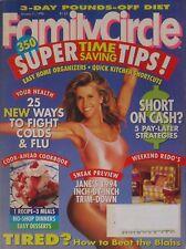 JANE FONDA January 1994 FAMILY CIRCLE Magazine
