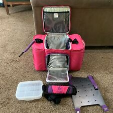 Six Pack Innovator 300 Pink And Purple PREOWNED Good Condition Meal Prep Bag