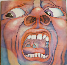 King Crimson ‎– In The Court Of The Crimson King Vinyl LP. Pink Label 1st Press.