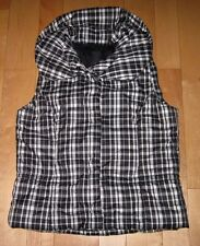 Calvin Klein Jeans  Womens Black & White Down Filled Jacket Vest Medium M