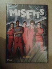 20780 // MISFITS SAISON 2 COFFRET 2 DVD NEUF