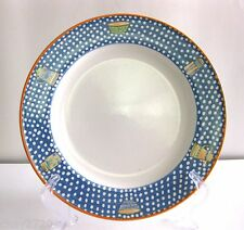 """PRE-OWNED LAURIE GATES """"DAISY CHINTZ"""" BY MIKASA DINNER PLATE 11 1/8 INCHES"""