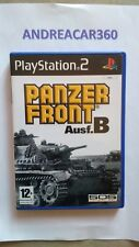 PANZER FRONT Ausf.B ITA PS2 Play Station2