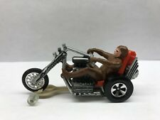 Mattel Hot Wheels rrRumblers Torque Chop with Brown Rider and Track Guide - 1971