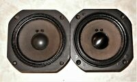RARE 2 JBL LE5-6 midrange speakers both sound and look great used L36 & others