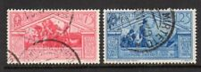 1930 Italy SC 253-254 Used - 75c Red Rose & 1.25L Blue - CDS*
