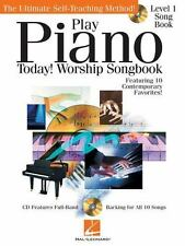 Play Piano Today! - Worship Songbook (2012, Compact Disc / Trade Paperback)