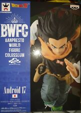 DRAGON BALL Z BWFC ANDROID 17 NORMAL COLOR VER. PVC STATUE 17 CM