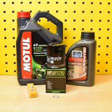 TGB Blade / Target 550 Service Öl Ölfilter Zündkerze 4l Motul 5100 10w40 Set