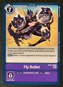Fly Bullet | BT6-109 U | Uncommon | Purple | Double Diamond | BT06 | Digimon TCG