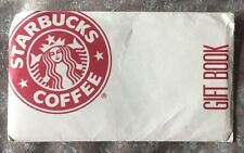 RARE STARBUCKS COFFEE GIFT BOOK COUPONS CERTIFICATE STAR BUCK