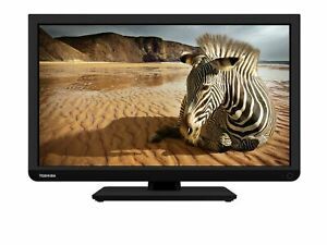 Toshiba 24W1333B HD Ready Digital Freeview LED TV
