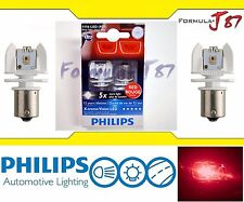 Philips X-Treme Vision LED Light Bulb 1156 Rouge Red Brake Driving Turn Signal