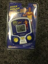 1995 Hulk Hogan Handheld WCW Electronic Games- New Sealed