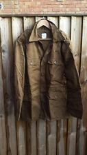 SOUTH AFRICAN SADF NUTRIA BROWN PATTERN PADDED BUSH JACKET - MEDIUM - NEW