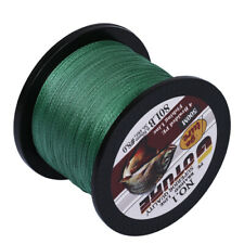 500M Braided Fishing Line 4 Strands Multifilament Pe Saltwater Line 80lb Green
