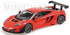 McLaren 12C. GT3 2013 Rue Car rouge rouge 1:18 Minichamps