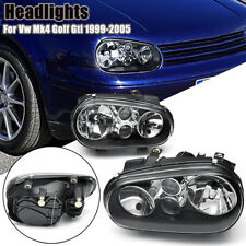 For Volkswagen Vw Mk4 Golf Gti 1999-2905 2x Halo Projector Headlights Head Lamp