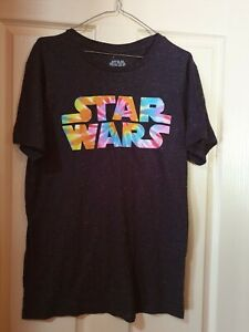 Mens new grey STARWARS tee size M