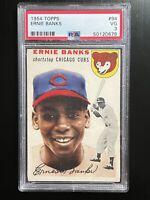 1954 Topps Ernie Banks #94 Rookie PSA 3 Fantastic!