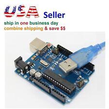 UNO R3 Board MEGA328P ATMEGA328P ATMEGA16U2 for Arduino Compatible+USB Cable