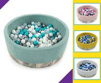 Tweepsy Baby Round Foam Ball Pit with 250 Plastic Balls - BKODP5