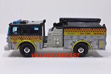 "2019 Matchbox ""MBX To The Rescue"" Pierce® Dash® Fire Engine SILVER / MINT"