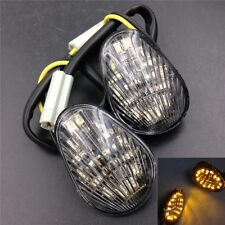 Clear Euro Led Flush Mount Turn Signal For Yamaha Yzf R1 R6 R6S 2006-2008