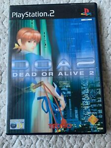 DOA 2 DEAD OR ALIVE 2 - PS2 PLAYSTATION 2