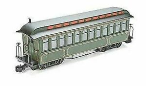 BACHMANN G SCALE JACKSON SHARP COACH OLIVE WITH GOLD LINE BN 89399
