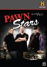 PAWN STARS SEASON 2 BRAND NEW 4DVD SET FREE POST!